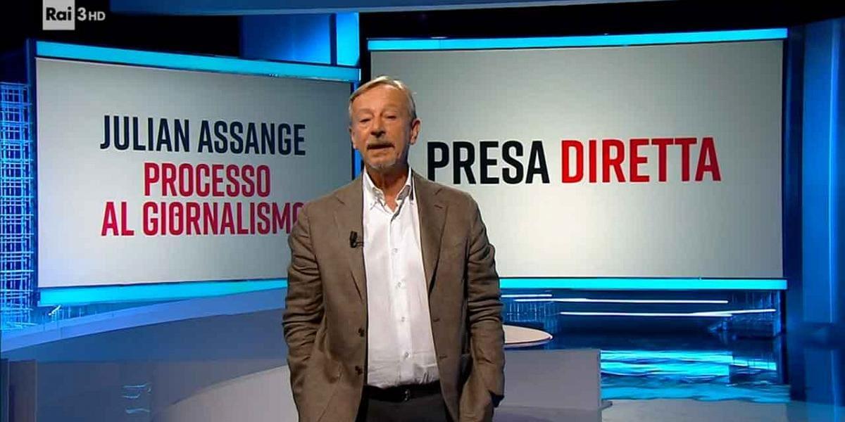 Presadiretta - Julian Assange, processo al giornalismo