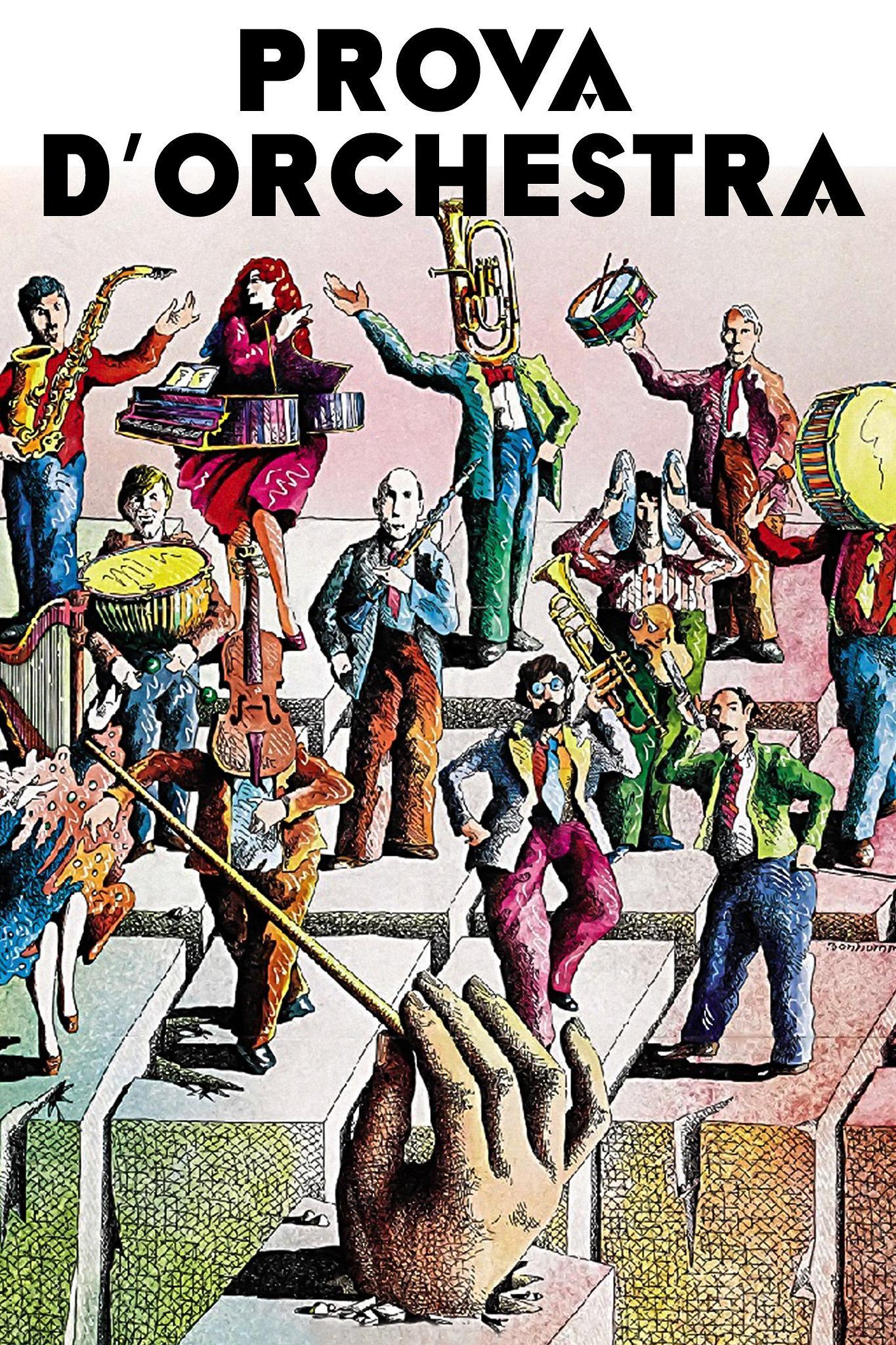 Risultati immagini per prova d'orchestra film