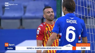 26/09/2020 18:00 Sampdoria-Benevento - RaiPlay