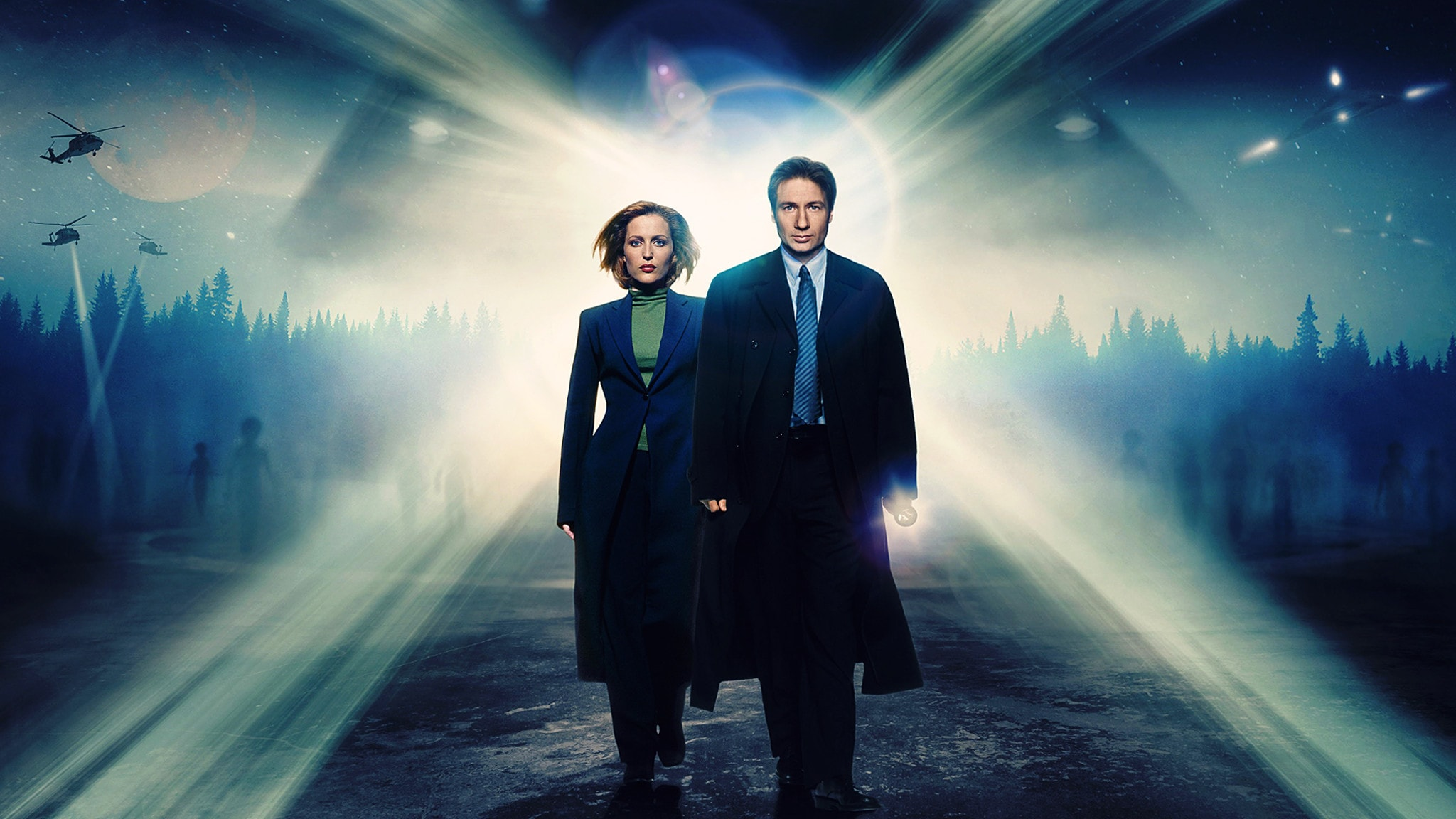 Rai 4 X-Files S6E4 Area 51 II
