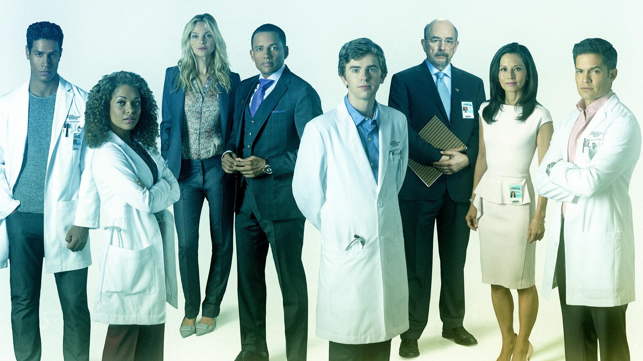 Rai 2 The Good Doctor S4E2 - In prima linea - 2a parte