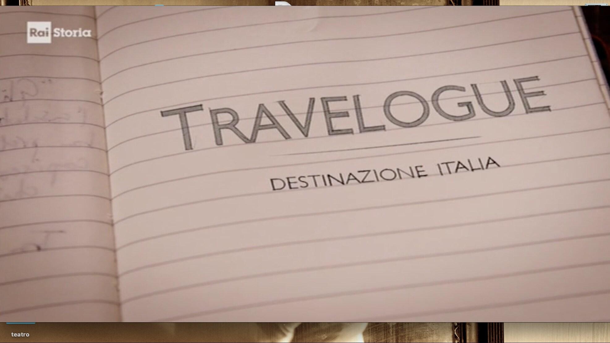 Rai Storia Travelogue. Destinazione Italia. Il Marchese De Sade