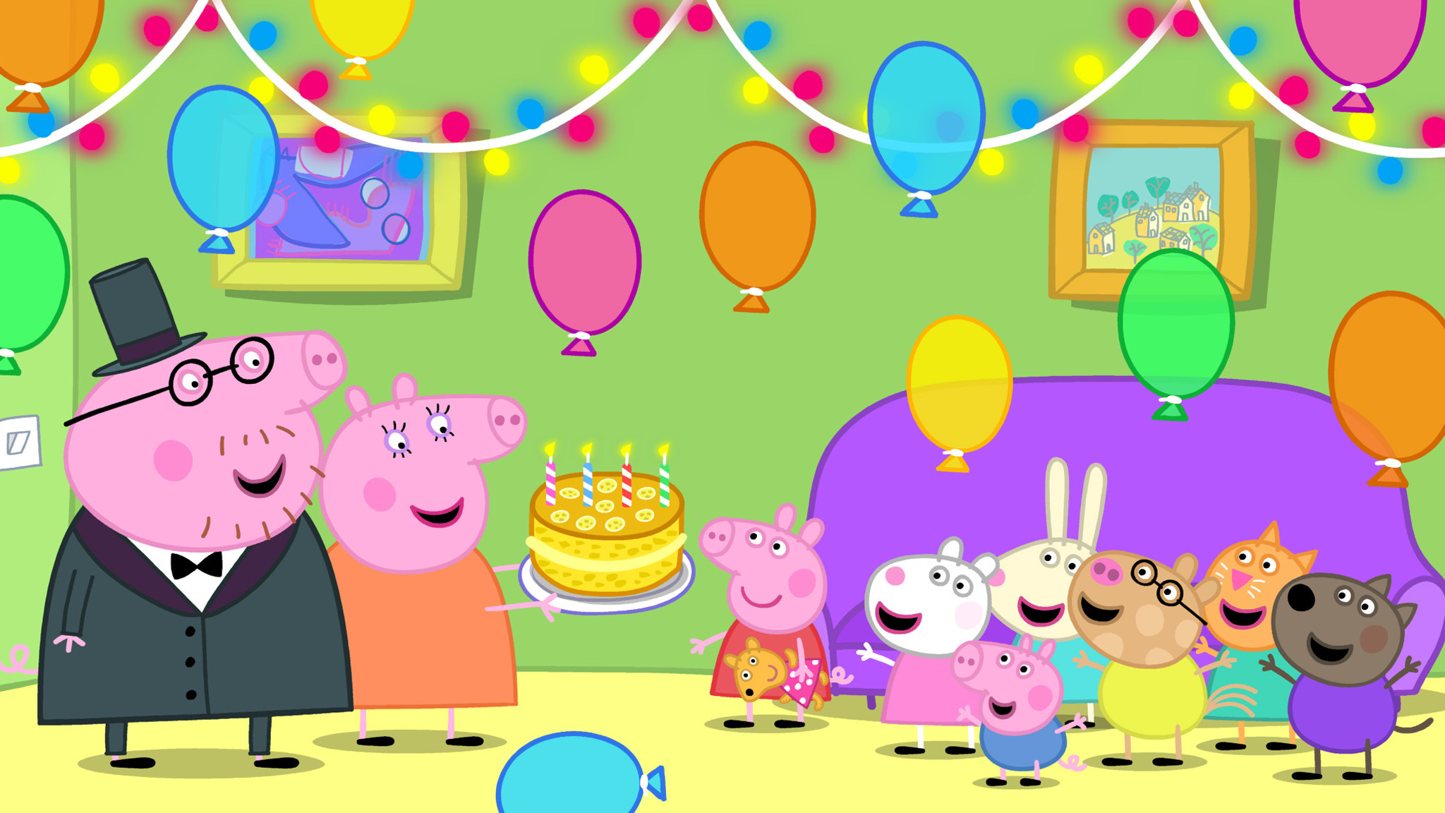Rai Yoyo Peppa Pig - S8E13 - World Book Day