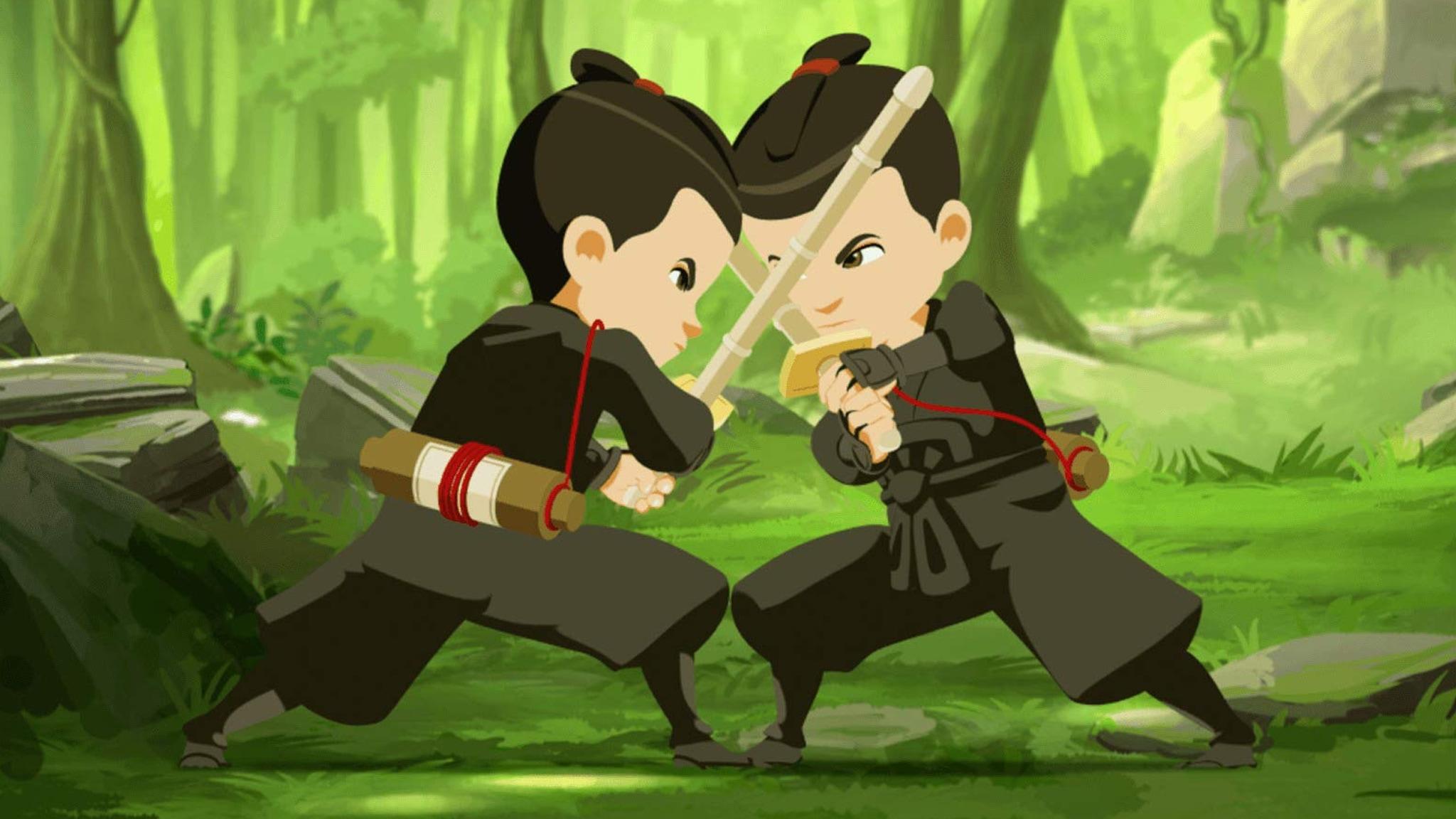 Rai Gulp Mini Ninjas - S2E44 - Il segreto di Sakura