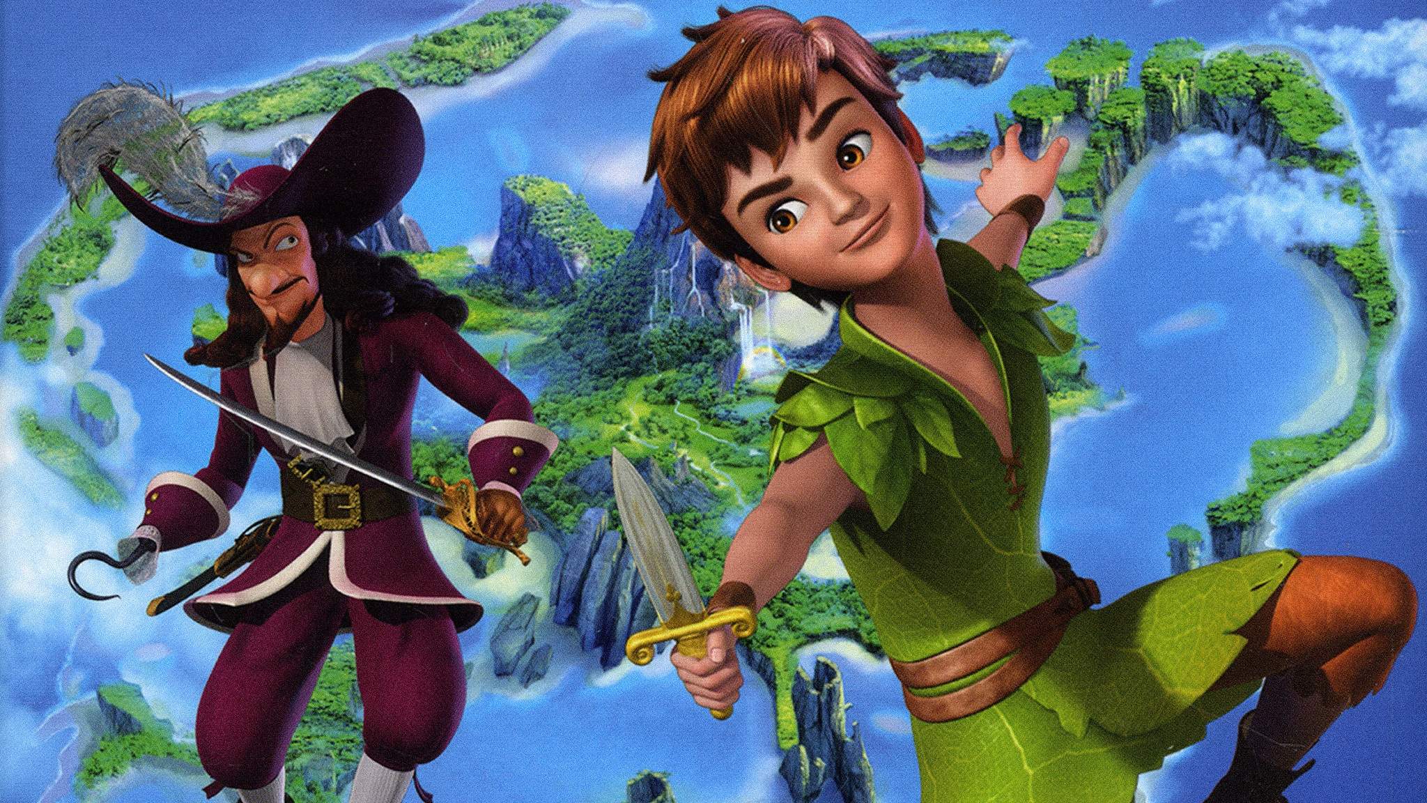 Rai Gulp Le nuove avventure di Peter Pan - S2E16 - I sette diamanti