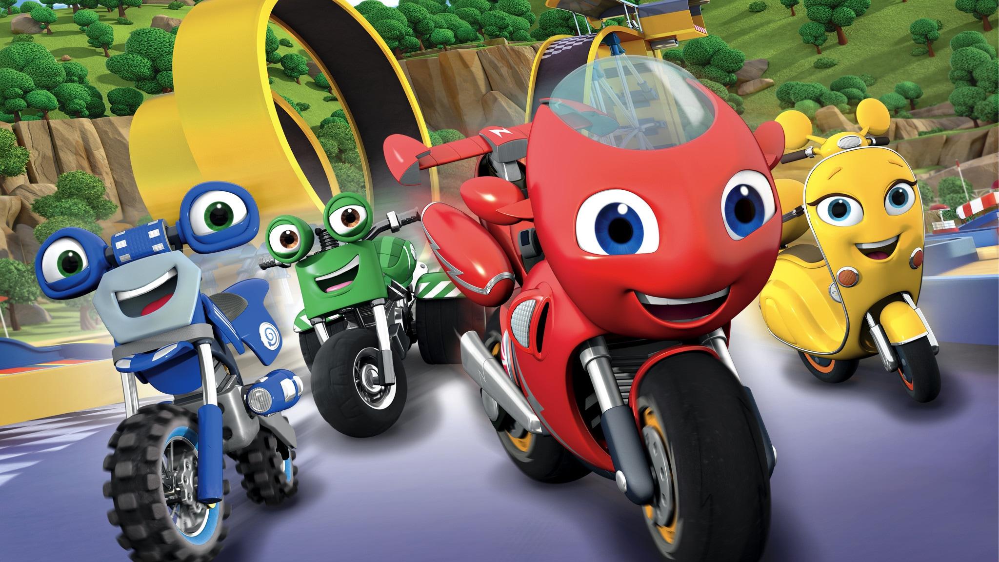 Rai Yoyo Ricky Zoom - S2E4 - Il bebop degli Scoot-bot