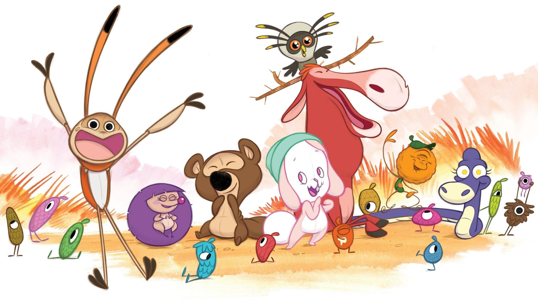 Rai Yoyo Ridolino e i suoi piccoli amici - S1E13 - Sfide spaventose