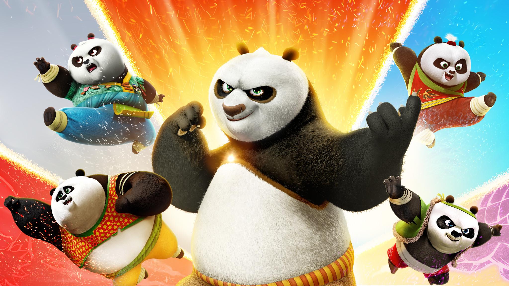 Rai Gulp Kung Fu Panda - Le zampe del destino - S1E19 - Le battaglie della baia di Gongman
