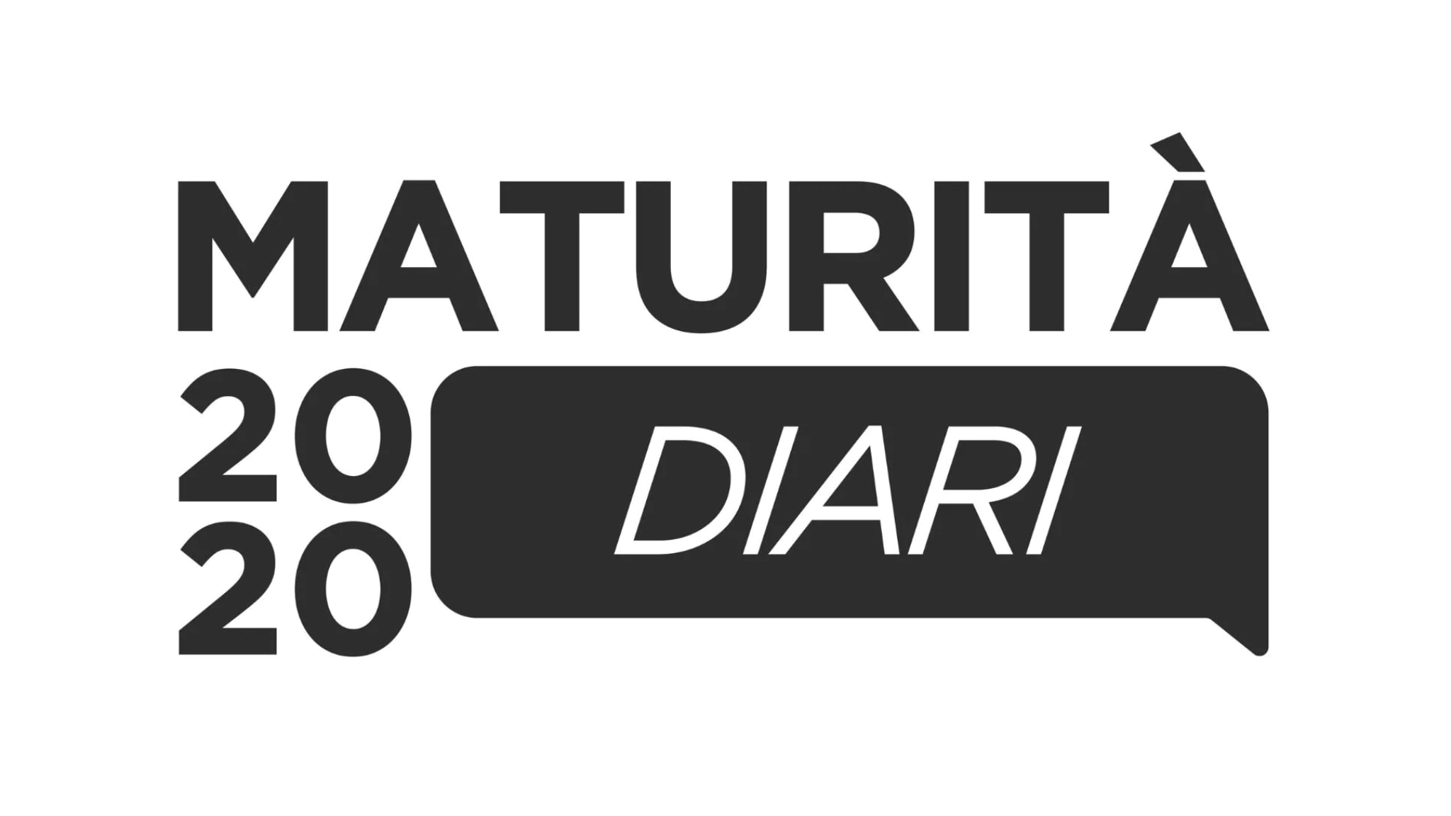 Rai 3 Maturità 2020 - Diari