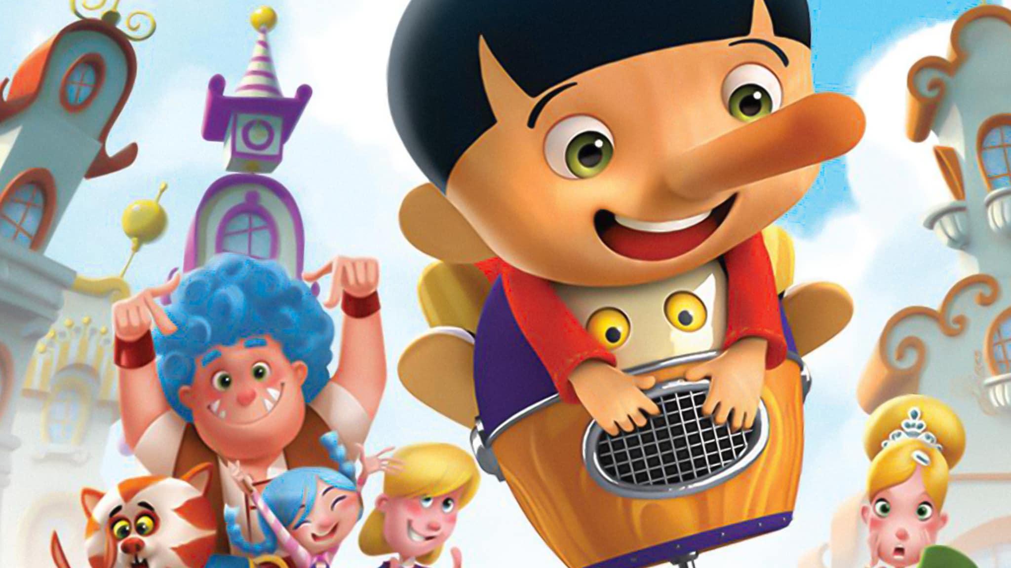 Rai Yoyo Il villaggio incantato di Pinocchio – S1E8 - I due Pinocchio