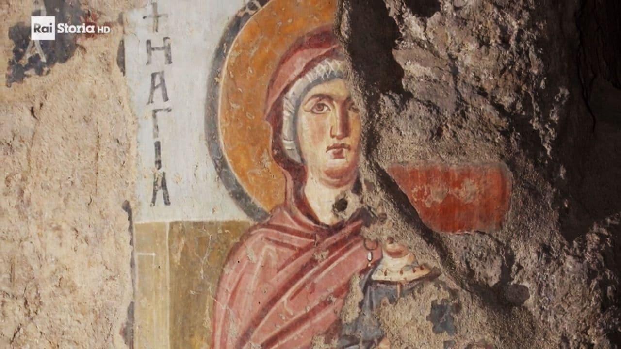 Italia Viaggio Nella Bellezza Santa Maria Antiqua E La Pittura Bizantina Video Raiplay