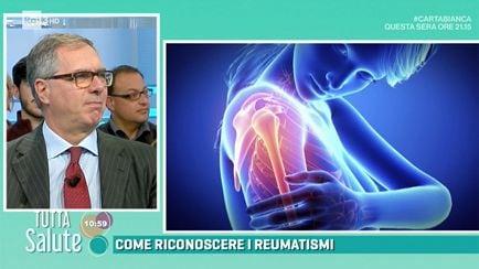 Risultati immagini per reumatismi tutta salute rai