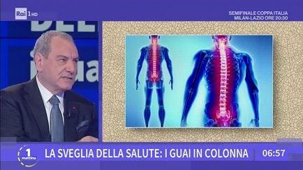 Unomattina S2018 19 La Sveglia Della Salute I Guai In Colonna 24 04 2019 Video Raiplay