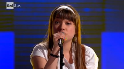 "The Voice of Italy - Giorgia La Commare: ""No Roots"" - Blind Auditions - RaiPlay"
