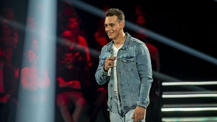 "The Voice of Italy - Filippo Cantele: ""Your man"" - Blind Auditions - RaiPlay"