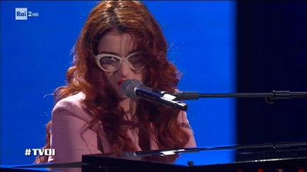 "The Voice of Italy - Federica Filannino: ""Via con me"" - Blind Auditions - RaiPlay"