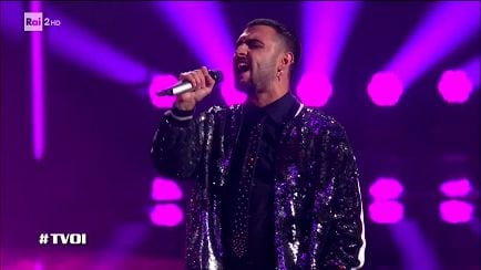 "The Voice of Italy - Francesco Da Vinci: ""Vaina Loca"" - Knock Out - RaiPlay"
