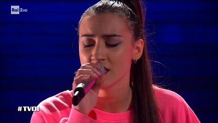 "The Voice of Italy - Jessica Lorusso: ""Let It Go"" - Blind Auditions - RaiPlay"