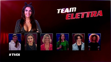 The Voice of Italy - I Best Six del #TeamElettra - RaiPlay