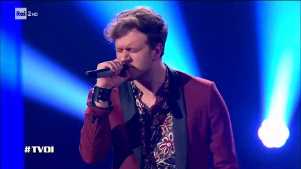 "The Voice of Italy - Domenico Iervolino: ""Yes I know my way"" - Knock Out - RaiPlay"