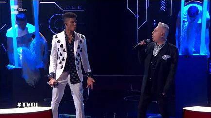 "The Voice of Italy - Diablo e Holly Johnson in ""Relax"" - Finale - RaiPlay"