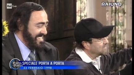 really cheap lowest price differently Porta a porta - S2018/19 - Il ricordo di Luciano Pavarotti e ...