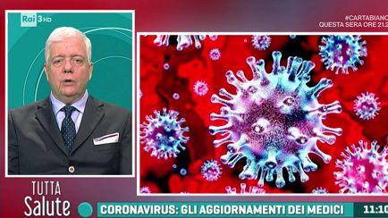 Risultato immagini per tutta salute coronavirus rai