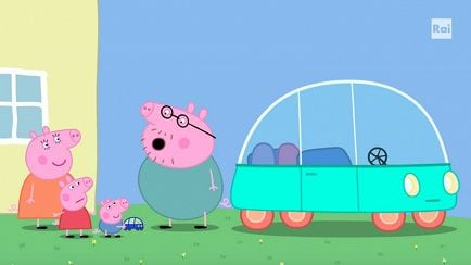 Peppa Pig - The electric car - RaiPlay
