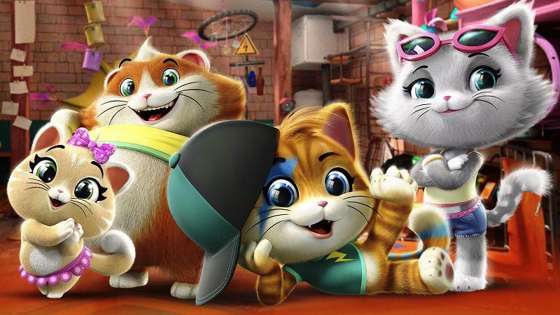 Rai Yoyo 44 gatti - S1E47 - Polpetta, il gatto sonnambulo